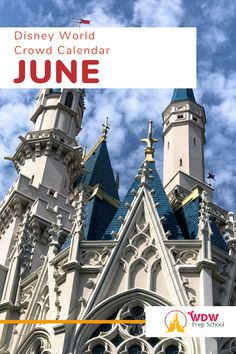 Planning to visit Disney World in June? Check out our FREE June Crowd Calendar for help finding the least crowded parks for each day of your trip. Disney World Florida, Walt Disney World, Disney World Crowd Calendar, Calendar June, Disney Planning, Time Of The Year, Disney Trips, Parks, How To Plan