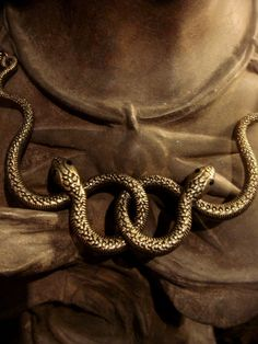 Entwined Snake Necklace