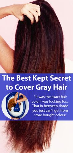 """Forget traditional hair dye, try this: """"I get compliments on my hair all the time. The cost is about as much as the TIP I had to leave for my stylist. Best Home Hair Color, Cool Hair Color, Hair Colour Design, Hairstylist Quotes, Covering Gray Hair, Natural Hair Styles, Long Hair Styles, Hair Quotes, About Hair"""
