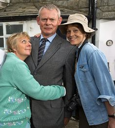 British TV to Watch in October Doc Martin, Home Fires, The . Doc Martin Series 7, Doc Martin Tv Show, Bbc Tv Shows, Martin Clunes, Dr Martins, The Last Kingdom, Sigourney Weaver, Uk Tv, British Comedy