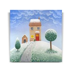 Lucy Pittaway Christmas Cards - Lovely Winter's Day For A Walk (Christmas Card x 10)
