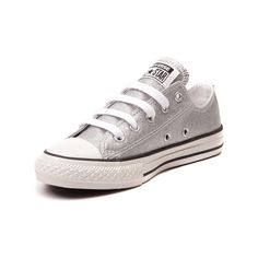 Converse All Star Lo Glitter Sneaker Girls Size 12