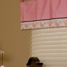 "Pam's Paisley 38"" Curtain Valance"
