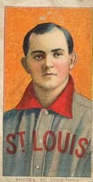 1909-11 The American Tobacco Company T206 White Border #411 Charlie Rhodes Front