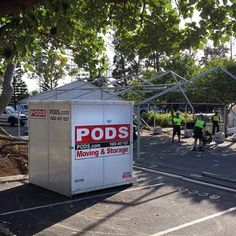 Looking for event storage? PODS offers a mobile and temporary storage solution with flexibility and convenience across a wide range of event situations. Pods Moving, Storage Pods, Temporary Storage, Cairns Queensland, Self Storage, Gold Coast, Storage Solutions, Marathon, Commercial