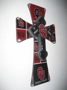 ~ THE University of Oklahoma cross ~