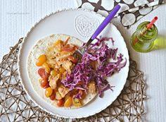 Tacos di pesce alla mediterranea
