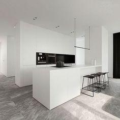 A white minimalistic dream @pad_london