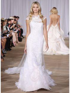 Auch das Brautkleid von Ines di Santo wäre perfekt für die Zwillinge-Frau.