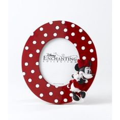 £23.00 Disney Enchanting Collection - Just The Cutest - Minnie Mouse Photo Frame: Amazon.co.uk: Kitchen & Home