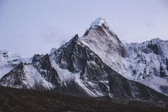 mountain Ama Dablam, Nepal