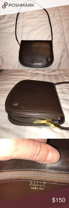 Vintage Bally Purse Gently used, belonged to my grandmother. Bally Bags Shoulder Bags