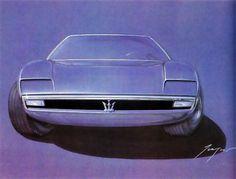 Maserati Bora - Giugiaro