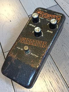 Colorsound Overdriver 1973 - Jeff Beck - Fuzz / Booster.