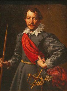 """Italian, Antonio Tanzio da Varallo, ~1620, """"Portrait of a Man"""""""
