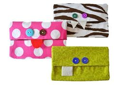 Free PDF Sewing Pattern Monster Tissue Holder Pattern