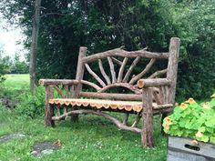 Awesome cedar bench.