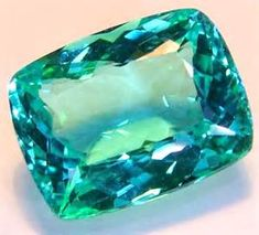 Tourmaline - Blue green