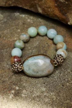 Hey, I found this really awesome Etsy listing at https://www.etsy.com/listing/202933076/handmade-amazonite-gemstone-bracelet