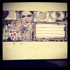 Paper & Gluestix... altered envelope...