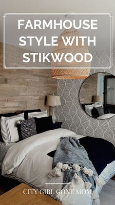 Adding Farmhouse Style to My Home With Stikwood! With everyone staying home right now, so many of us are updating and redecorating our homes, myself included. Check out the link for more! #interiordesign #design #interior #homedecor #architecture #home #decor #interiors #homedesign #art #interiordesigner #furniture #decoration