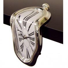 Ausgefallene Geschenke: Schmelzende Uhr *Dali-Style*