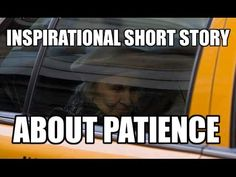 Inspirational Short Stories-About Patience #inspirationalshortstories
