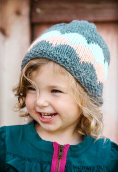 Chic+Bubbles+Beanie++Knitting+PATTERN++pdf+format+for+by+lillebarn,+$4.25