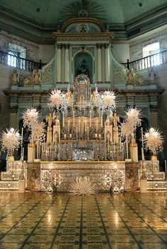 3. Altar of Repose - Bacolor, Pampanga | by PLUMARIA SACRED VESTMENTS