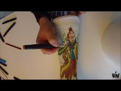 """HOW TO draw / decorate YOUR OWN cast TINTIN and Snowy with only alcohol markers: eigen gips versieren / pimpen met Kuifje en Bobbie - by VIN 2017 (watch on Youtube: """"VIN belge"""")"""