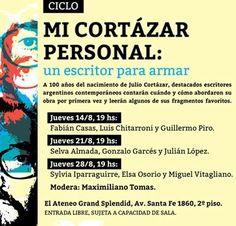 Me encantaría poder ir pero no puedo :(  Para quien pueda, les recomiendo la fecha de Fabián Casas, gran escritor.