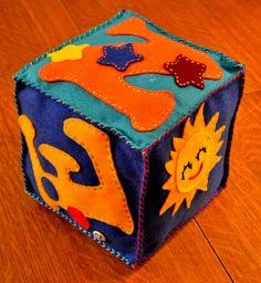"""Une création """"Cube"""" pour le petit Kenzo!"""