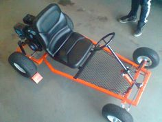 Miller - Welding Projects - Idea Gallery - Homemade go-kart