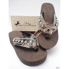 Cute cute..........I love Montana West Flip Flops.......treat myself to a pair every summer!!!!!!!!!!