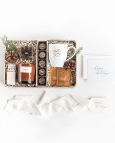 UNISEX HOLIDAY GIFT BOXES perfect for corporate gifts, client gifts, hostess gifts and thank you gifts