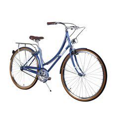 ZF Bikes | Civic Women Misty Blue City Series Bike