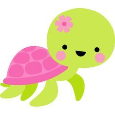 Silhouette Design Store: turtle - under the sea Turtle Birthday, Mermaid Birthday, Silhouette Cameo Projects, Silhouette Design, Deco Theme Marin, Cute Turtles, Under The Sea Party, Applique Patterns, Stuffed Animal Patterns