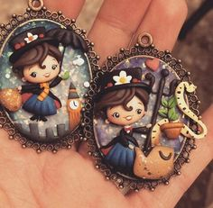 Fimo Disney, Polymer Clay Disney, Polymer Clay Figures, Cute Polymer Clay, Polymer Clay Dolls, Polymer Clay Projects, Polymer Clay Creations, Polymer Clay Jewelry, Hery Potter