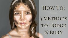 Dodge and burn are used to lighten and darken specific areas of an image to both emphasize and de-emphasize features of the artist's images. Here are 3 dodge and burn methods you can use.