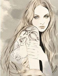 shu84: Kelly Thompson illustration