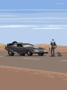 Mad Max : The last of the V8 InterceptorsShown at 300 percent.
