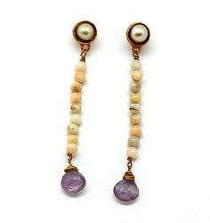 opale earrings
