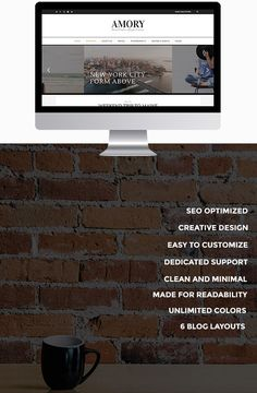A beautiful premium WordPress Theme for Creatives, Artisans & Photographers - available now on ThemeForest