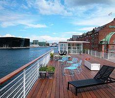 CPH LIVING a floating Hotel in Copenhagen's Harbour, Christianshavn, Denmark