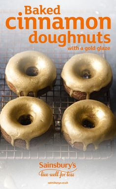 These impressive doughnuts taste delicious baked with spicy cinnamon – and aren't too difficult to make either. A great festive treat to spice up any Christmas party.