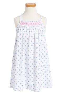 Main Image - Tucker + Tate Smocked Halter Dress (Toddler Girls, Little Girls & Big Girls)