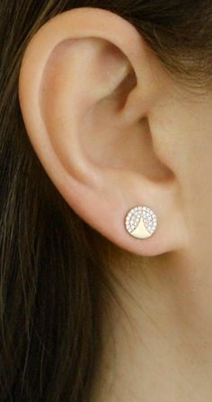 Shop the collection of Jennifer Yamina jewelry at Dana Rebecca Designs for unique, timeless jewelry. Diamond Earrings Indian, Pearl Stud Earrings, Sterling Silver Earrings Studs, Diamond Jewelry, Earring Studs, Aztec Earrings, Ear Jewelry, Fine Jewelry, Jewlery