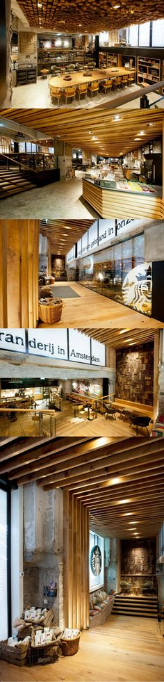 Starbucks 'The Bank' Concept Store, Amsterdam