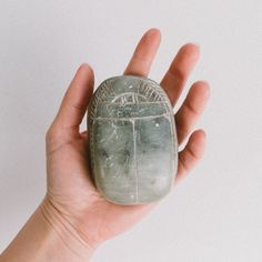 Vintage Soapstone Scarab Beetle Paperweight Soapstone, Religious Art, Paper Weights, Beetle, Egyptian, Gemstone Rings, Personalized Items, Antiques, Etsy