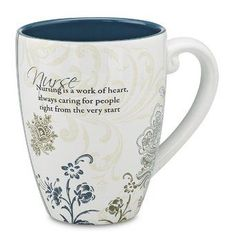 """Nursing is a work of heart, always caring for people right from the very start"" Nurse Gifts"